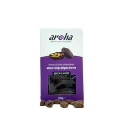 Aroha - Aroha %85 Bitter Çikolata Kaplı, Antep Fıstığı Dolgulu Hurma