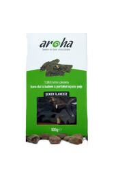 Aroha - Aroha Şeker İlavesiz %99,8 Bitter Çikolata - Kuru dut & Badem & Portakal Uçucu Yağı 150 gr
