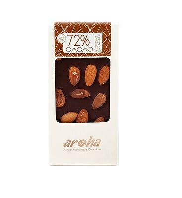 Bademli %72 Kakao Bitter Çikolata 100 gr