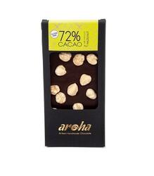 Aroha - Fındıklı %72 Kakao Bitter Çikolata 100 gr
