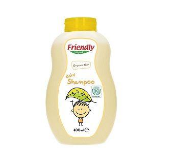 Organik Bebek Şampuanı Organik Yulaf 400 ml