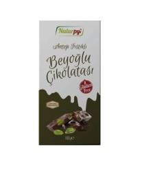 Naturpy - Glutensiz Antep Fıstıklı Beyoğlu Çikolatası 100 gr