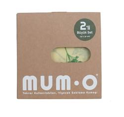 Mumo - Mumo Yiyecek Saklama Kumaşı 2'li Büyük Set