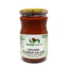 Ekoloji Market - Organik Acı Biber Salçası 660 gr