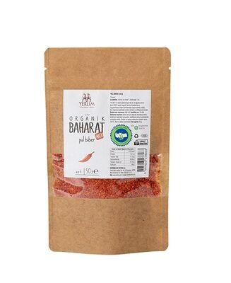 Organik Acı Pul Biber 50 gr