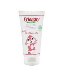 Friendly - Organik Ahududu Özlü Bebek Diş Macunu 50 ml