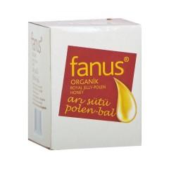 Fanus - Organik Arısütü Polen Bal Karışımı 240 gr