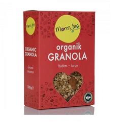 Monn Bio - Organik Badem Tarçın Granola 300 gr