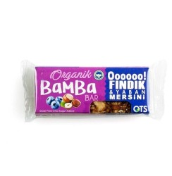 OTS - Organik Bamba Bar Fındık & Yaban Mersini 30 gr