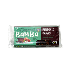 OTS - Organik Bamba Bar Kakao & Fındık 30 gr
