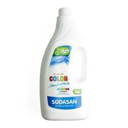 Sodasan - Organik Sıvı Çamaşır Deterjanı Renkli-Hassas 1,5 lt