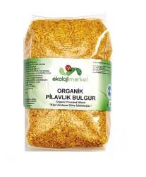 Ekoloji Market - Organik Pilavlık Bulgur 1 kg