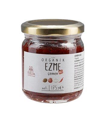Organik Çemen Ezmesi 175 gr (Vegan Glutensiz)