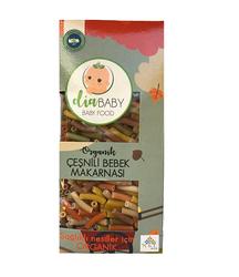 DİABABY - Organik Çeşnili Bebek Makarnası 330 gr