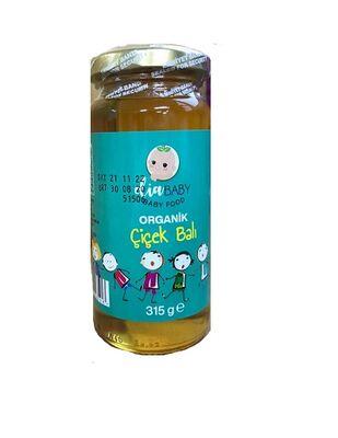 Organik Çiçek Balı (Bebeklere Özel) 315 gr