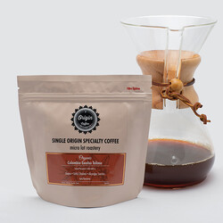 At Origin - Organik Colombia Excelso Tolima Açık Kavurma Çekirdek Kahve 250gr
