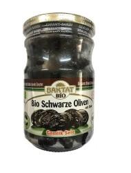 Baktat - Organik Yağlı Sele Siyah Zeytin Gemlik Net: 390 gr