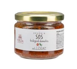 Yerlim - Organik Fesleğenli Domates Sosu 250 gr (Glutensiz ,Vegan)