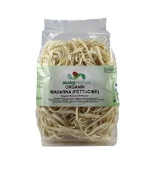 Ekoloji Market - Organik Fettucine Sade 250 gr