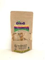 Gekoo - Organik Fırınlanmış Sade Zeytinyağlı Tam Buğday Cips 115 gr