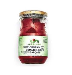 Ekoloji Market - Organik Karışık Salça (Domates- Biber) 650 gr