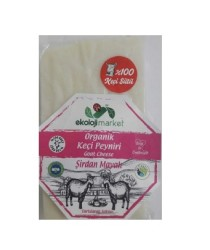 Ekoloji Market - Organik Keçi Beyaz Peynir Köy Usulü 0,295 gr (120 TL/KG)