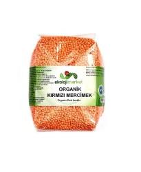 Ekoloji Market - Organik Kırmızı Mercimek 500 gr