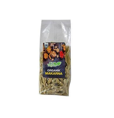 Organik Kısa Kesme Ispanaklı (Vegan) Makarna 330 gr