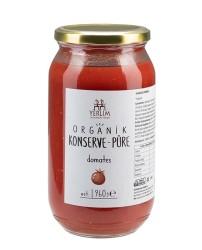 Yerlim - Organik Konserve Domates Püresi 960 gr (Glutensiz , Vegan)