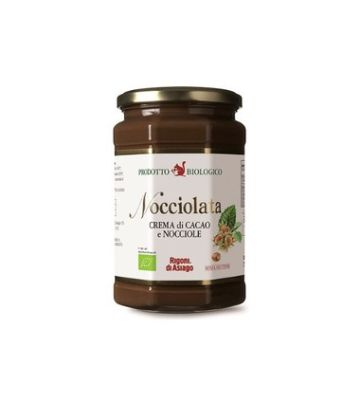 Organik Nocciolata Sütlü Kakaolu Fındık Kreması 270 gr