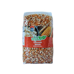 Eko Bio Yaşam - Organik Patlak Mısır 1 kg
