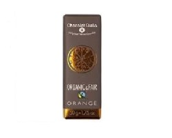 Chocolat Stella - Organik Portakallı Bitter Çikolata 50gr