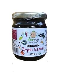DİABABY - Organik Sade Zeytin Ezmesi (Bebeklere Özel) Net:195 gr