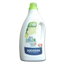 Sodasan - Organik Misket Limonlu Renkli Sıvı Çamaşır Deterjanı 1.5 lt