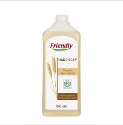Friendly - Organik Sıvı El Sabunu Pirinç 1 lt