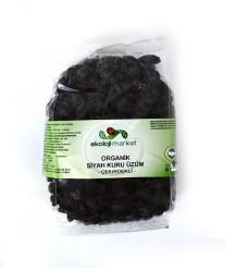 Ekoloji Market - Organik Siyah Kuru Üzüm Çekirdekli 250 gr