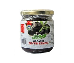 Eko Bio Yaşam - Organik Siyah Zeytin Ezmesi Net:195 gr