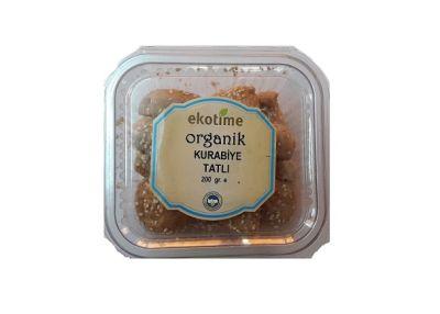Organik Tatlı Kurabiye 200 gr