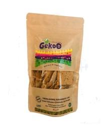 Gekoo - Organik Vegan Fırınlanmış Keten Tohumlu Çörekotlu Zeytinyağlı Cips 115 g