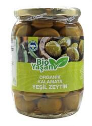 Eko Bio Yaşam - Organik Yeşil Kalamata Zeytin Net: 420 gr