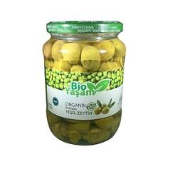 Eko Bio Yaşam - Organik Yeşil Kırma Zeytin Net: 420 gr