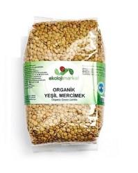 Ekoloji Market - Organik Yeşil Mercimek 1 kg