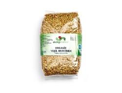 Ekoloji Market - Organik Yeşil Mercimek 500 gr
