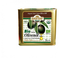 Baktat - Organik Sızma Zeytinyağı Teneke Kutu 2 lt
