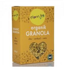 Monn Bio - Orgsnik Chia Zerdeçal Ceviz Granola 300 gr