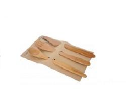 Bambum - Panada 3 Parça Çatal Kaşık Bıçak Seti - Küçük