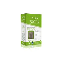 TALYA FOODS - Organik Filizlendirilmiş Çiğ Karabuğday Tagliatelle 200 gr
