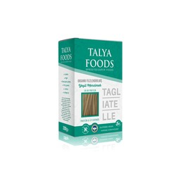 TALYA FOODS - Organik Filizlendirilmiş Yeşil Mercimek Tagliatelle 200 gr