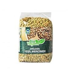 Eko Bio Yaşam - Organik Yeşil Mercimek 500 gr
